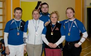 Sagittariuse laskjad Klubide Karika 1 etapil 2010