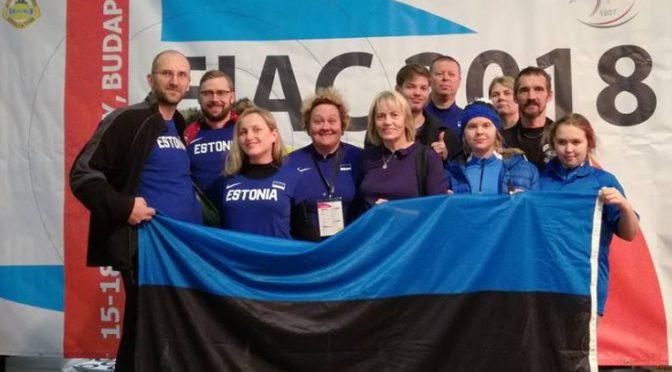 2018 aasta sisemeistrivõistluste tulemused Lihulas ja Viljandis
