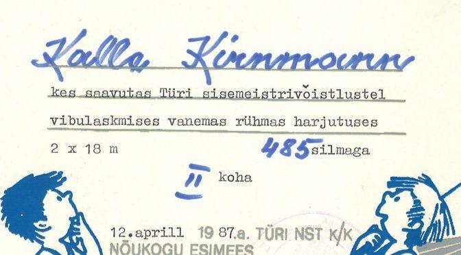 CV: Kalle Kirnmann
